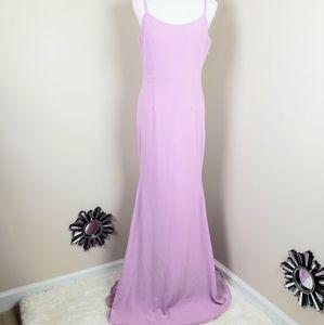 NWOT  Dress The Population lavender mermaid dress